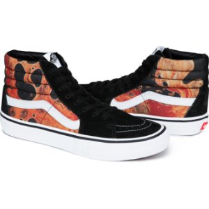 Tênis Supreme x Vans Blood and Semen Sk8-Hi - Black