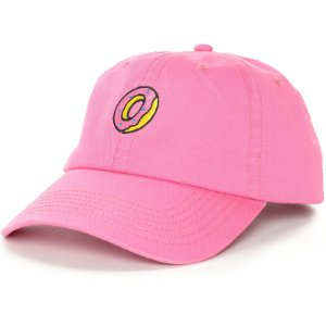 Boné Odd Future Embroidered Donut - Pink