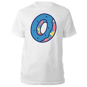 Camiseta Odd Future Donut O Logo White