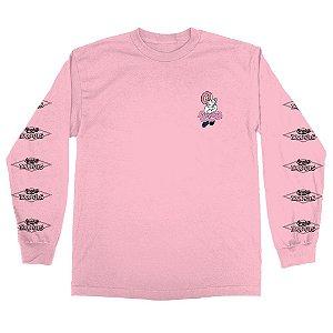 Camiseta Odd Future X Randy's Donuts Long Sleeve Pink