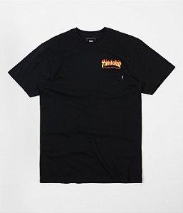 Camiseta Vans x Thrasher - Black