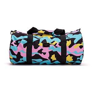 Pink Dolphin Camo Duffle Bag Multi 2