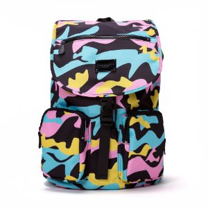Pink Dolphin Camo Backpack Multi