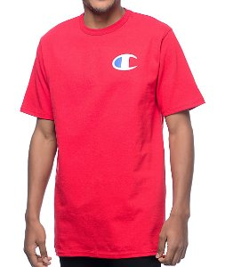 Camiseta Champion Heritage Patriotic C - Red