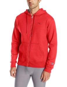 Moletom Champion Powerblend Fleece Full-Zip - Red