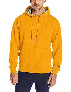 Moletom Champion Fleece Pullover - Gold