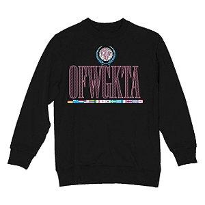 "Moletom ODD Future ""OFWGKTA"" Worldwide - Black"