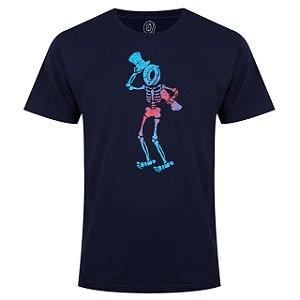 Camiseta ODD Future Donut Skeleton - Navy