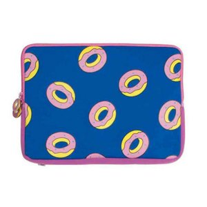 "Laptop Sleeve ODD Future All Over Donut 15"" - Pink"