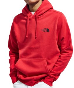 Moletom The North Face Box Logo - Red