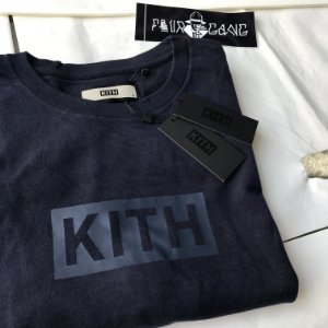 Camiseta KITH Box Logo - Navy
