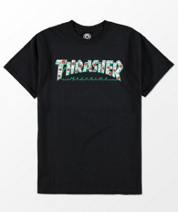 Camiseta Thrasher Roses - Black