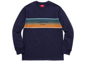 Moletom Supreme Shadow Stripe - Navy
