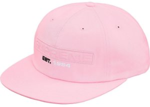 Boné Supreme Embossed Logo 6-Panel Light - Pink