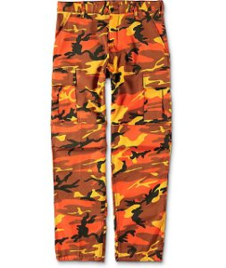 Calça Rothco Camo - Orange