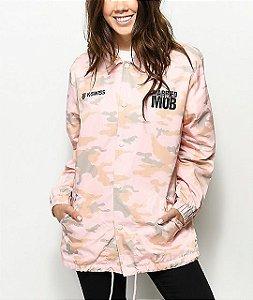 Jaqueta MTTM x K-Swiss Logo Pink Camo Coaches
