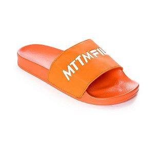 Chinelo MTTM x FILA Logo Slide - Orange