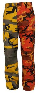 Calça Rothco Camo - Yellow / Orange