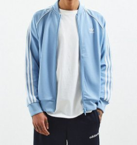 Moletom Adidas Side Stripe - Blue