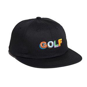 Boné Golf Wang 3D Logo Multi Color - Black