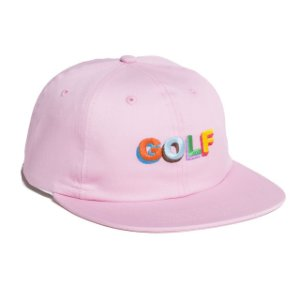 Boné Golf Wang 3D Logo Multi Color - Pink