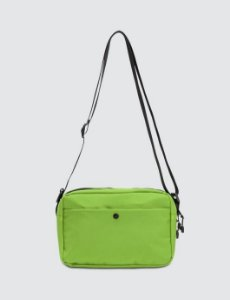 Places+Faces Refletive Pouch Bag - Green