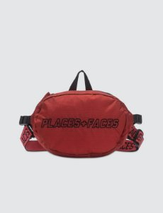 Places+Faces Pouch Bag - Red
