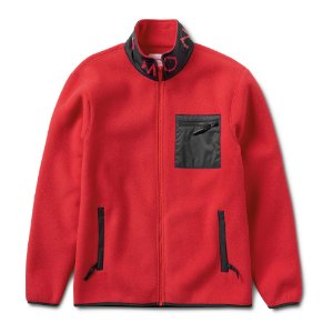 Jaqueta Diamond Supply Co. Marquise Polar Zip-Up - Red