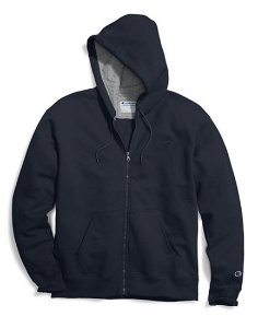 Moletom Champion Powerblend Fleece Full-Zip - Navy