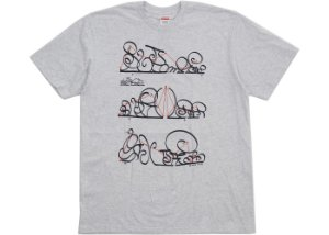 Camiseta Supreme System - Grey