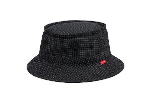 Bucket Supreme Reflective Ripstop Low - Black