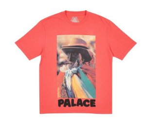 Camiseta Palace Stoggie - Light Red
