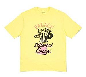 Camiseta Palace Dif Strokes - Yellow