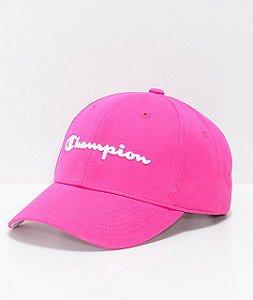 Boné Champion Classic Twill Amaranth Strapback - Pink