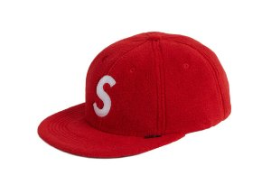 Boné 6-Panel Supreme Polartec S Logo - Red