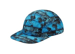 Boné 5-Panel Supreme World Famous Taped - Blue