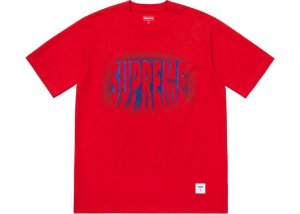 Camiseta Supreme  Light SS Top - Red