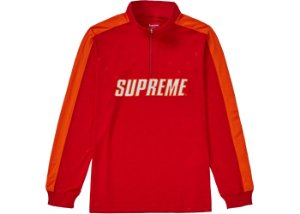 Moletom Supreme Track Half Zip Pullover - Red