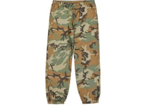 Calça Supreme Reflective Camo Warm Up - Woodland Camo