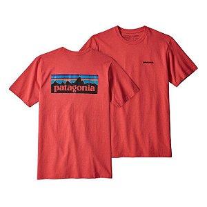 Camiseta Patagonia Classic - Tomato