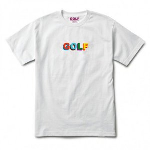Camiseta Golf Wang 3D Multi Color - White