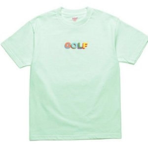 Camiseta Golf Wang 3D Multi Color - Green