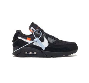 Tênis Nike Air Max 90 x OFF-WHITE - Black