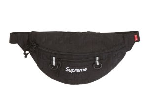 Supreme Waist Bag (FW19) - Black