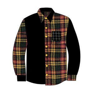 Camisa The Protest Unknown Flannel - Orange