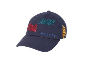 Boné 6-Panel Palace Patch - Navy
