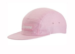 Boné 5-Panel Supreme Fuck Everybody - Pink