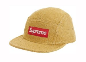 Boné 5-Panel Supreme Glitter Terry - Gold