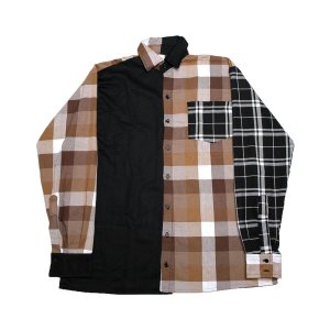 Camisa The Protest Unknown Flannel - Brown