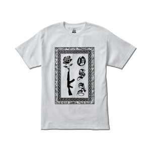 Camiseta Four Gang AK Kosa Nostra - White